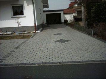 Garageneinfahrt Betonsteine