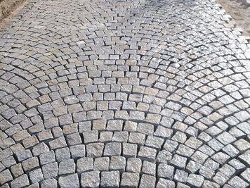 Garageneinfahrt / Granit 8 - 10
