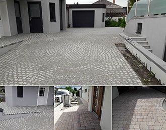 Garageneinfahrt / Hof